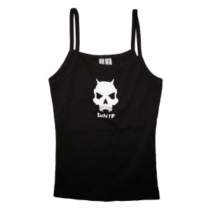 Whip Skull Womens Babydoll Tank Top