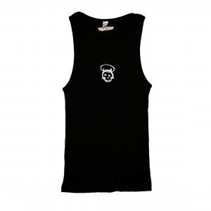 Whip Skull Devil Womens Tank-Top