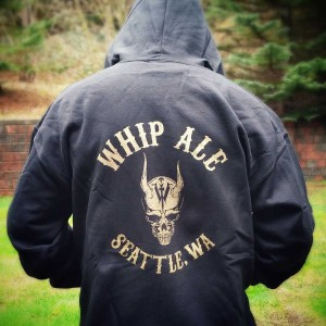 Whip Ale Hoodie (back)